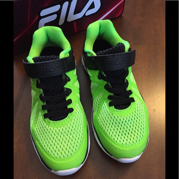 Fila Shoes | Neon Green And Black Fila